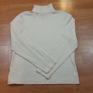 Ann Taylor Silk/Nylon Blend Sweater